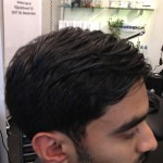 Men's Haircut Slick Comb Over