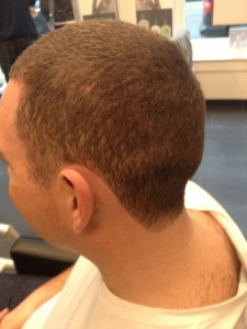 Men's Haircut Chic Shaved 2