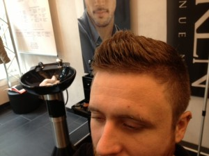 Men's Hair Crew Cut With Styled Beard 3