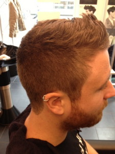 Men's Hair Crew Cut With Styled Beard 4